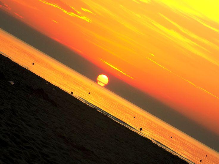 Sunrise at the sea II.