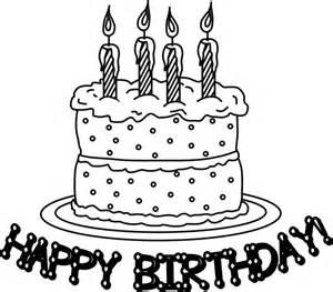 coloring book pages birthday cake coloring pages birthday cake with