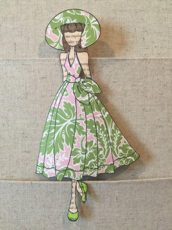 Je suis en amour avec Julie Nutting timbres!! Ce sont madulte livres à colorier ! Jai été fasciné par les poupées de papier depuis que jétais un enfant. Ses tampons Prima me permettent de le prendre à un nouveau niveau. Cette liste est pour le « poupée Camille Floral » en utilisant le nouveau timbre de Camille.