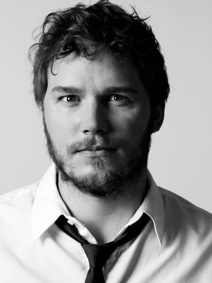 Chris Pratt. Love him in Parks & Rec & he's freaking fantastic in Guardians of the Galaxy. Plus, he reminds me a lot of someone special. :]