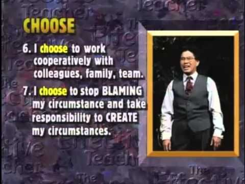 Dr. Harry Wong: 10 Choices for the Professional Educator