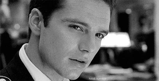 Those eyes, that smirk | Chris Evans & Sebastian Stan❤ | Sebastian