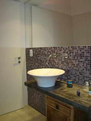 Venecitas lugares ideales mosaic bathroom for Revestimiento venecitas para banos