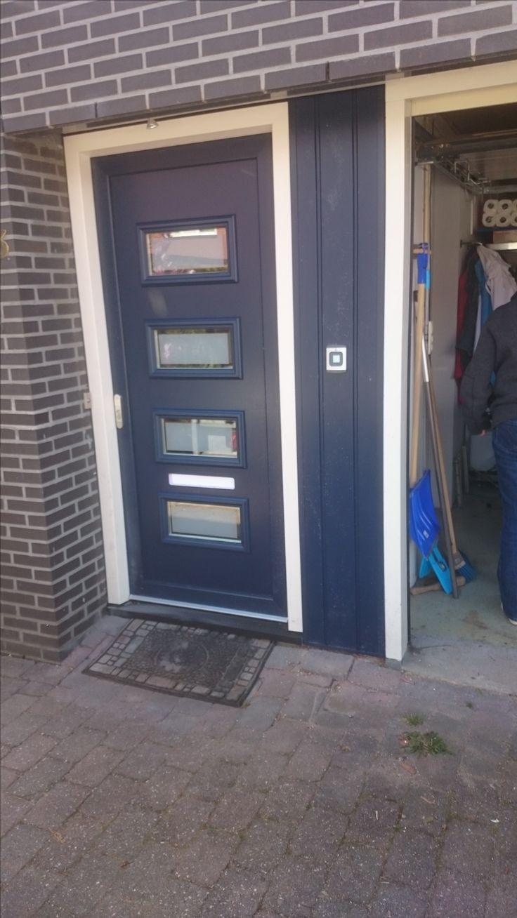 Voordeur met voordeur paneel