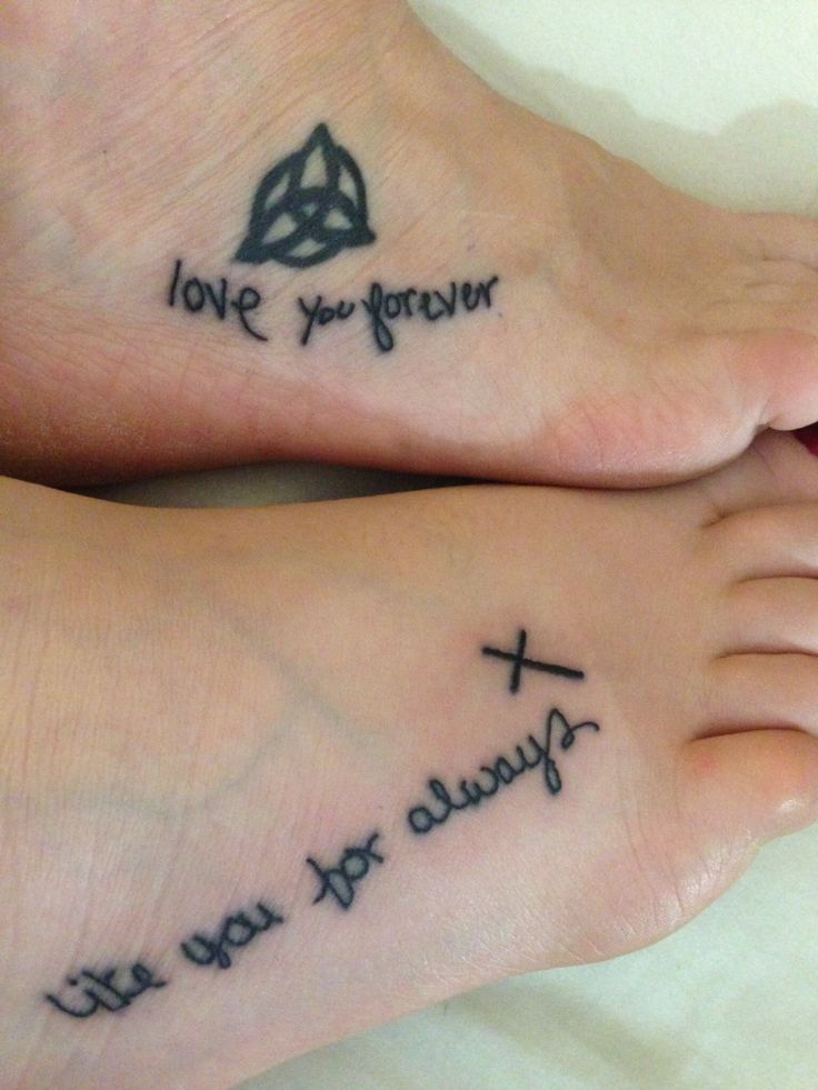 94 best tattoo ideas images on pinterest for Love always tattoo