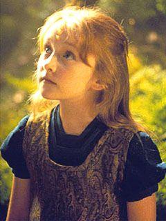 Scarlett Pomers as Naomi Wildman on Star Trek Voyager. Half-Ktarian, half-Human female; daughter of Greskrendregtk and Samantha Wildman; born aboard Voyager.