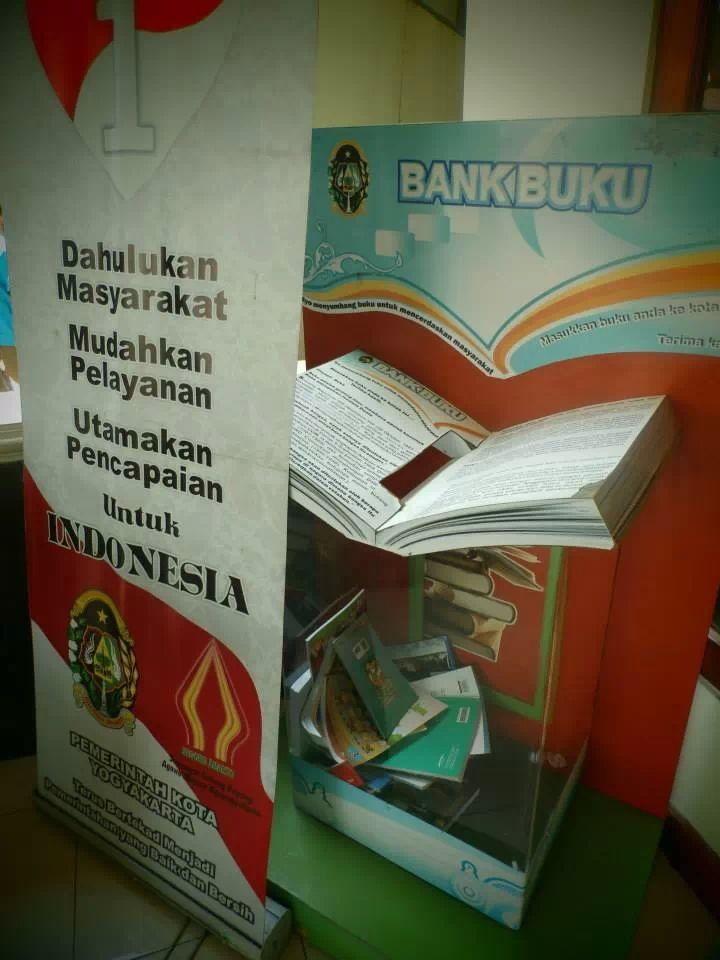 Bank buku Perpustakaan Kota Jogjakarta