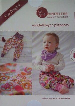 WindelFreya Splitpants - Schnittmuster
