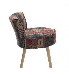 Υφασμάτινη Καρέκλα 46x53x57 Σειρά Boho
