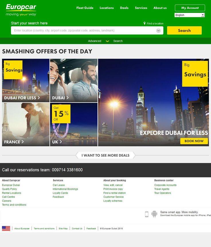 Europcar Dubai Rent A Car, Llc  DIC 3, 3, Internet City Road G Floor Al Sufouh 2 - 382, Jumeirah, Dubai | www.HaiUAE.com is a complete Travel Guide to Dubai, Ajman, Alain, Abu Dhabi, Fujairah, Sharjah, Ras al khaimah, Umm Al Quwain, United Arab Emirates, GCC Countries. Explore more about GCC Countries, GCC Countries List, Dubai Airport Code, Gulf Countries List, RTA Fines