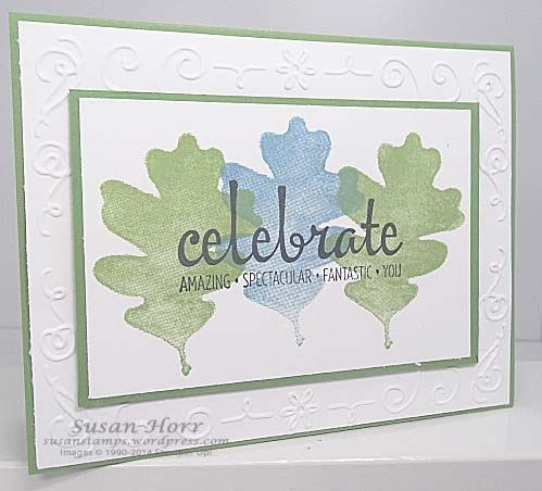 For All Things, Fabulous Four and the Filigree embossing folder.