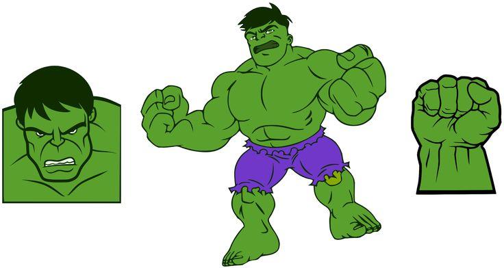 Krafty Nook: The Incredible Hulk SVG Files
