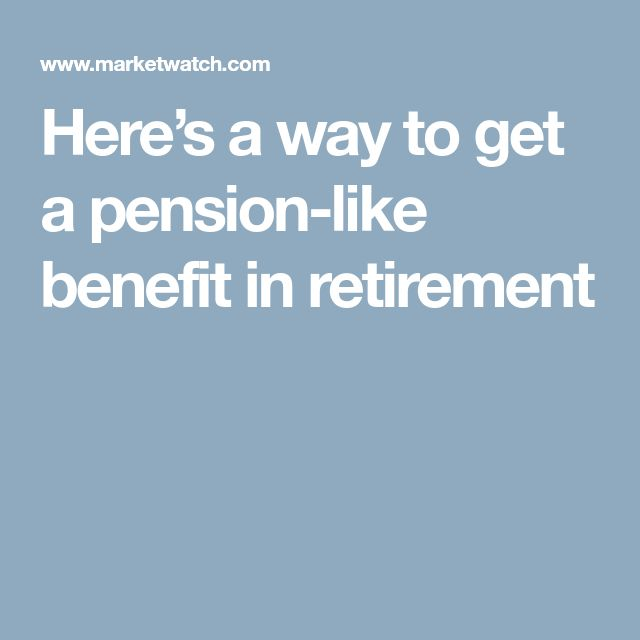 The  Best Defined Benefit Pension Plan Ideas On