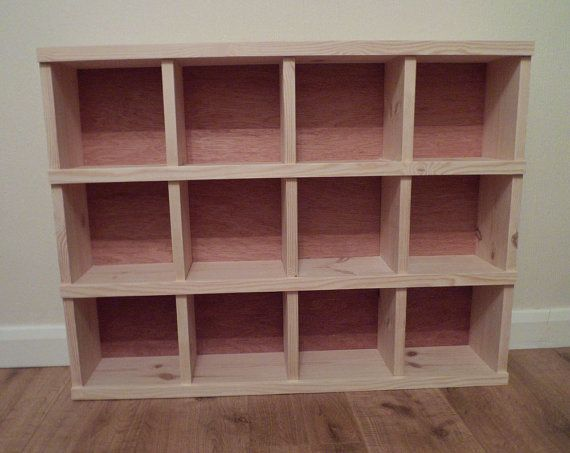 Marvelous Handmade Wooden Pigeon Hole Storage Unit Cubby Hole Shelf On Etsy, $261.40