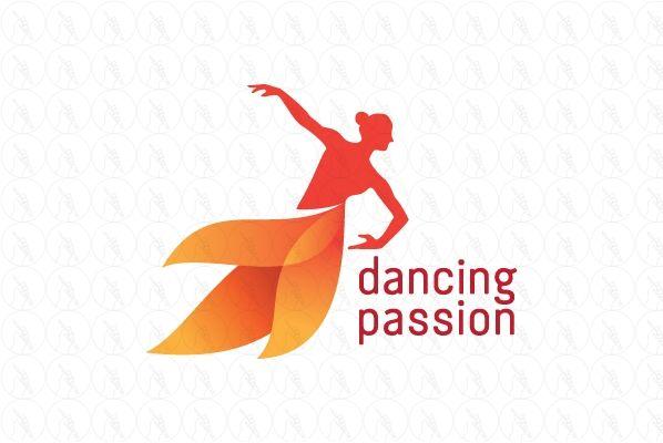 Dancing Passion Logo - $280 (negotiable) http://www.stronglogos.com/product/dancing-passion-logo #logo #design #sale #dancing #school #studio #class