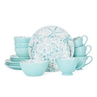 Pfaltzgraff Venice 16-Piece Dinnerware Set | Overstock.com Shopping - The Best Deals on Casual Dinnerware