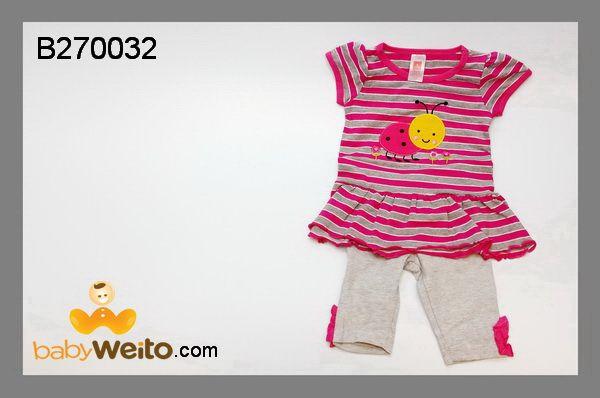 B270032  Baju setelan baby untuk perempuan  Bahan halus dan lembut  Warna sesuai gambar  IDR 100*