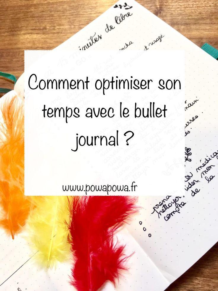 Comment optimiser son temps avec le bullet journal ?