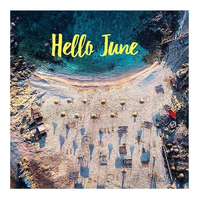 Welcome June! ☀️ Summer is finally here  So excited for the best days to come. Stay tuned || www.wecreateharmony.com  credits: @thilyzas #wecteateharmony #summertime #beach #alemagu