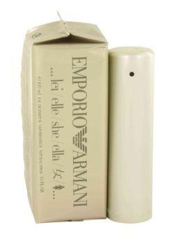 Emporio Armani Perfume by Giorgio Armani, 100 ml Eau De Parfum Spray for Women -  Emporio Armani Perfume by Giorgio Armani 3.4 oz Eau De Parfum Spray for Women. Launched By The Design House Of Giorgio Armani In 1998, Emporio Armani Is Classified As A Refined, Flowery Fragrance. This Feminine Scent Possesses A Blend Of Fruit, Jasmine, Heliotrope, With Low Notes Of Cedar,...