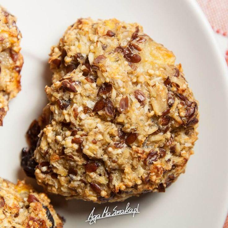 zdrowe ciasteczka owsiane bez cukru szybki przepis