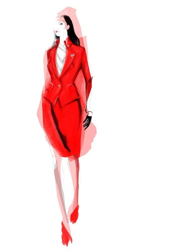 ヴィヴィアンが英ヴァージンアトランティック航空の制服をデザイン | Fashionsnap.com