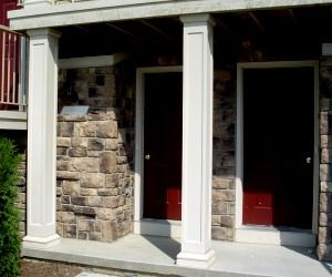 1000 images about house on pinterest diy porch columns for Hb g permacast columns