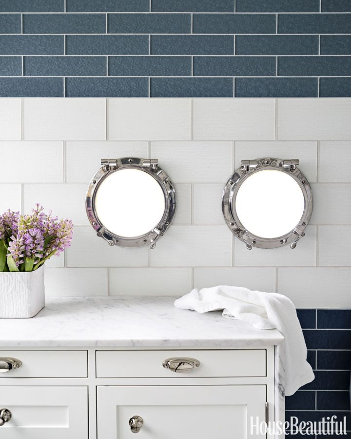 25+ best ideas about White nautical bathrooms on Pinterest