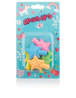 Unicorn Star Topper Erasers