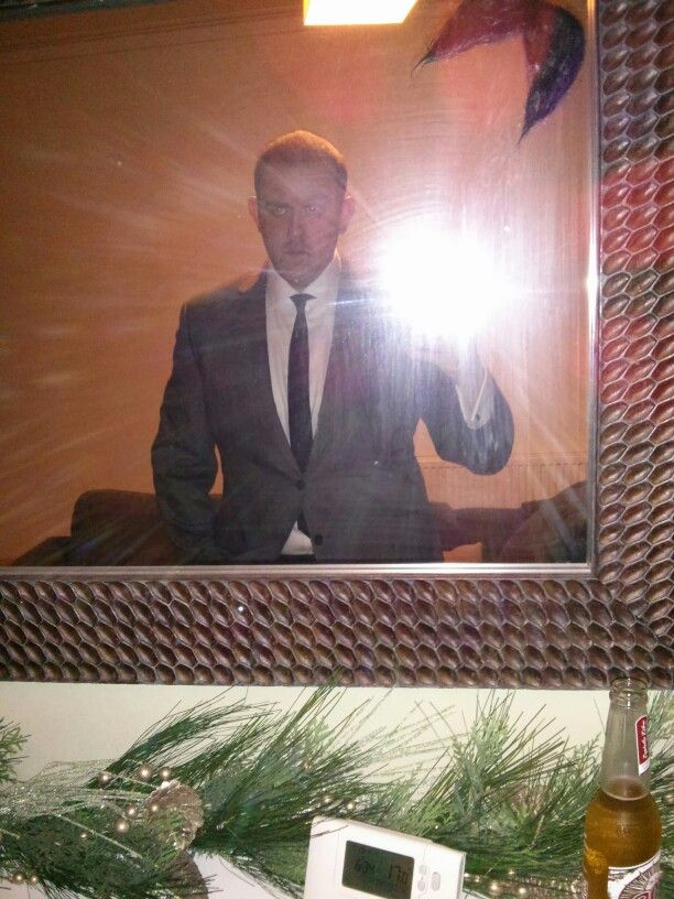 Suit from xmas party