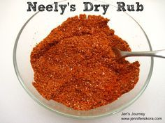 Neely's Dry Rub -- This is the exact recipe that they use on the show and in their restaurant.