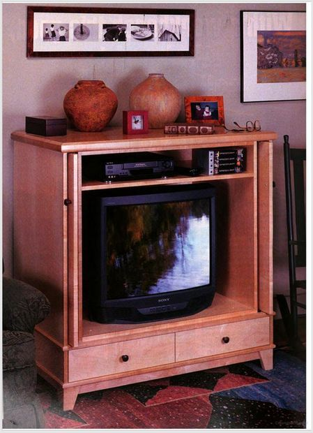 How to Build a Television Cabinet
