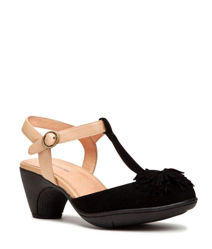 Isabella Anselmi - black Monette mary jane heels