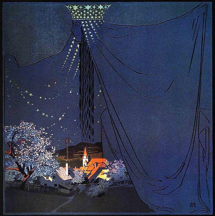 Queen of the Night Mila von Luttich (Austria, 1872-1929)