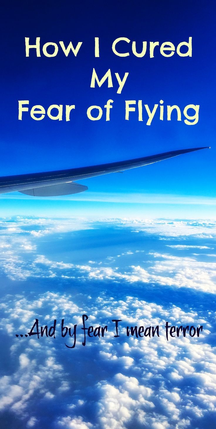 Learn how I cured my fear of flying. A lot of people suffer from this genuine anxiety - but it's good to know you can do something about it.
