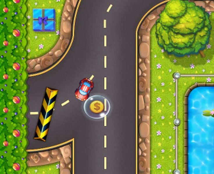 Race your car in a super sweet police chase. Collect all the gold coins while avoiding the cops in this crazy fun racing game!