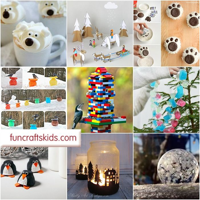 "Sooo now Christmas is over, we still have a couple of months of ""winter"" to get through. And as all the Christmas decorations come down, we are indeed of some fabulous Winter Crafts Ideas in order to get us through…"