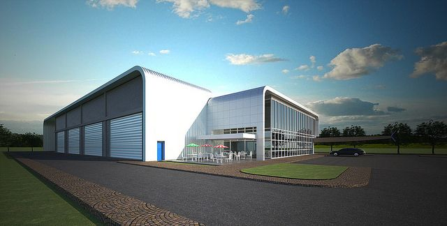 Airbus Training Center - Projects - Gallery - VisualARQ - 3D Architecture for Rhino - Software Architecture