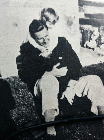 Dr Dönges en sy jongste dogter, Ingrid.