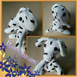 Crochet dalmatian - crochet amigurumi toy