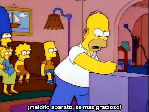 ". "" mas Simpsons aqui "" los Simpson  en español ♥ latino"