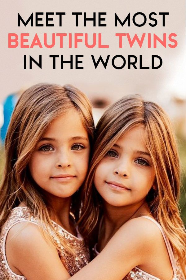 Photos Little Girls Named The Most Beautiful Twins In -1459