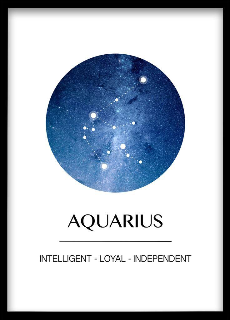 Wassermann Poster Download Und Print Horoskop Dekoration