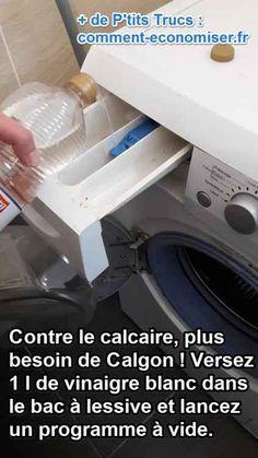 1000 id es sur le th me nettoyage de la machine laver sur pinterest netto - Detartrage machine a laver au vinaigre blanc ...