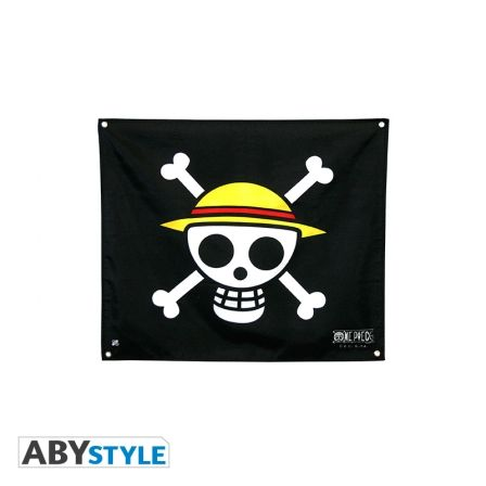 ONE PIECE Drapeau Skull Luffy (50x60)