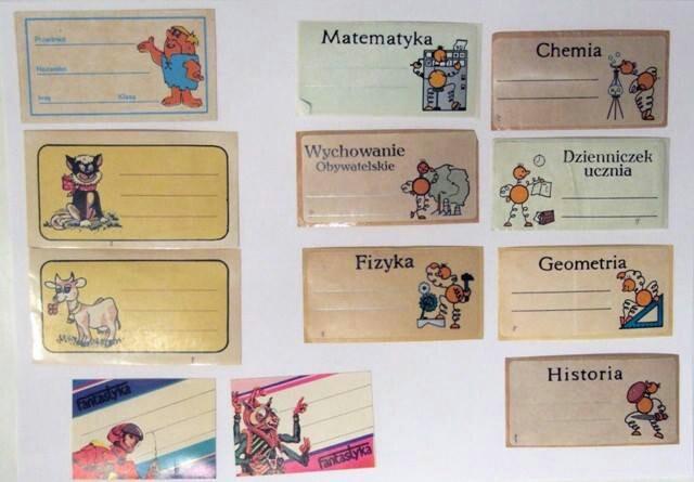 Notebook stickers / Naklejki na zeszyt