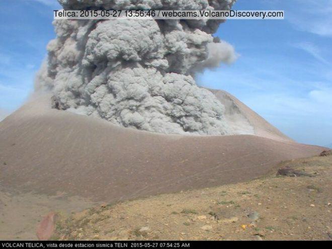Телика — самый активный вулкан в Никарагуа. Он расположен в 112 км к северо-западу от столицы страны Манагуа.