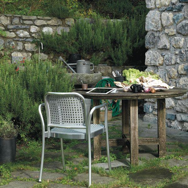 Sedia Silver Outdoor - design Vico Magistretti - De Padova