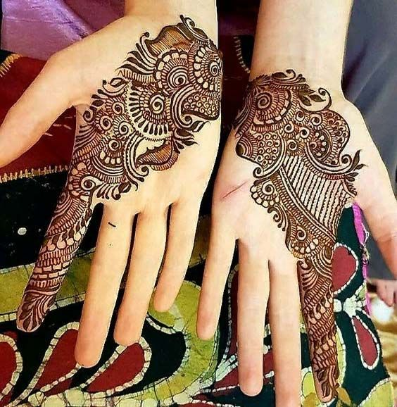 New Floral Mehndi Designs