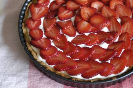Strawberry Cream Cheese Tart | cobblers galettes pies tarts tartlets ...